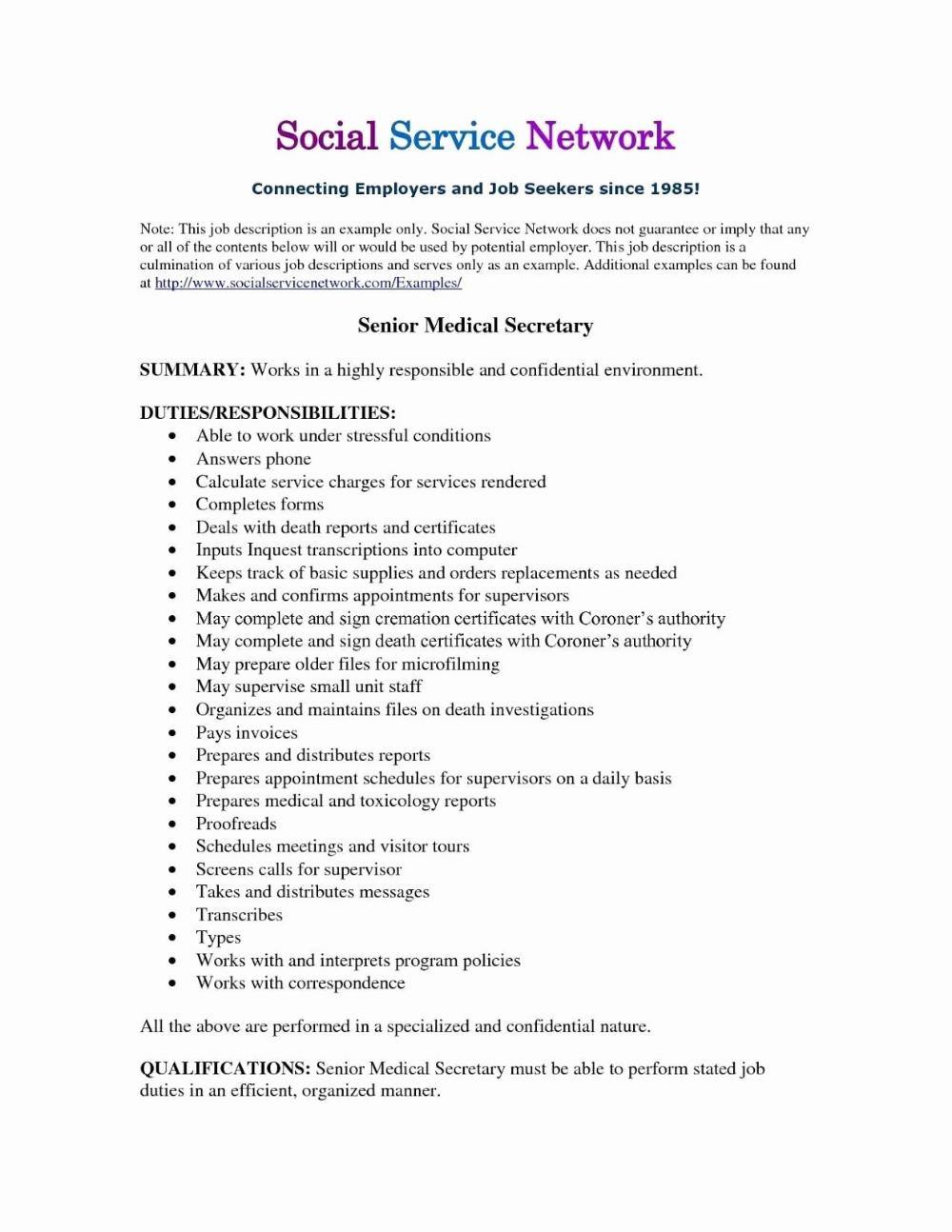 secretary resume examples, secretary resume examples 2019