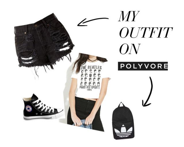 """Platform 9/3"" by emiliexx98 ❤ liked on Polyvore featuring Converse and Topshop"