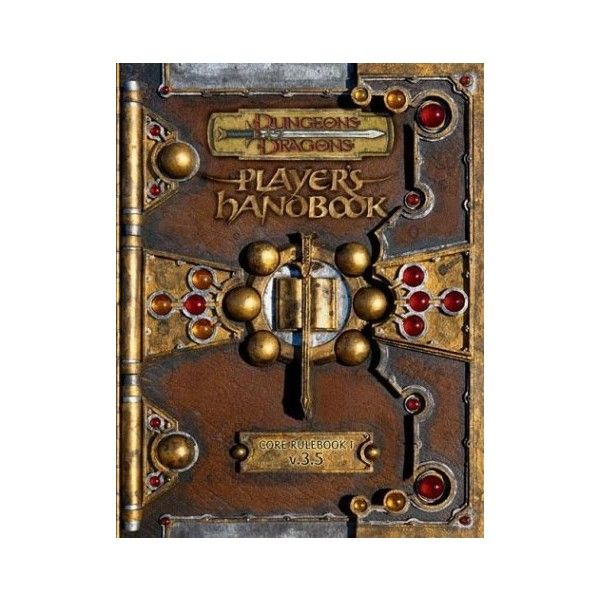 Player's Handbook: Core Rulebook I (Dungeons & Dragons, Edition 3.5) -... ❤ liked on Polyvore featuring books