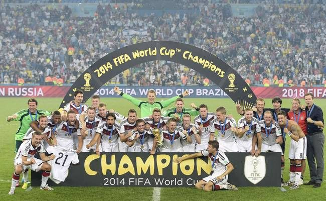 Germany Win Fifa World Cup 1