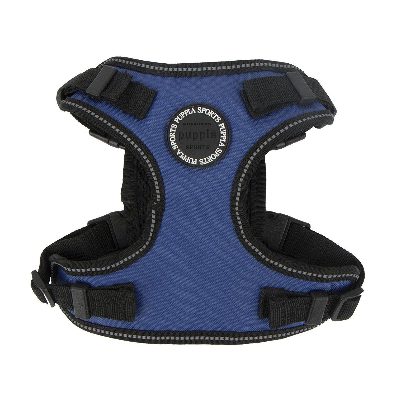 Puppia PLRAHF9323 Black Trek Safety Harness F PetVest