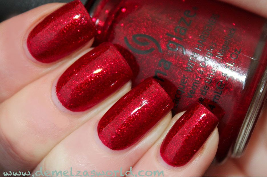 China Glaze Red Pearl Picture Gallery