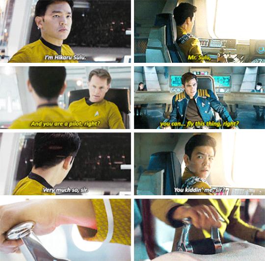 Hikaru Sulu | Star Trek & Star Trek Beyond