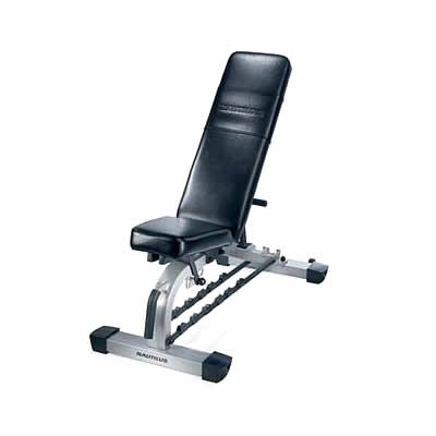 Nautilus Nt 1012 Deluxe Flat To Incline Bench Easy To Use And With Handy Dumbell Rests Http Www Comparestoreprices Co Uk Keep Incline Bench Keep Fit Nautilus
