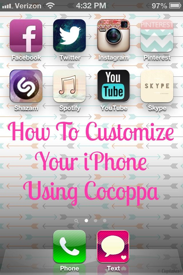 HowTo Primp Your Phone with Cocoppa! (With images) Iphone