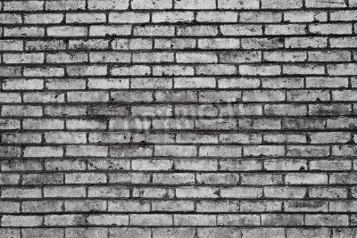 Black And White Brick Abstra Mural Rf Images White Brick White Brick Wallpaper Brick Wall Wallpaper