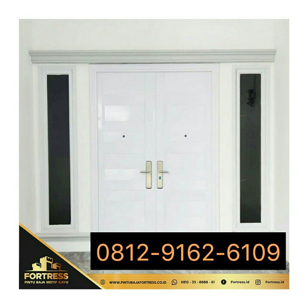 0812-9162-6108 (FORTRESS), Balinese Carving Home Door