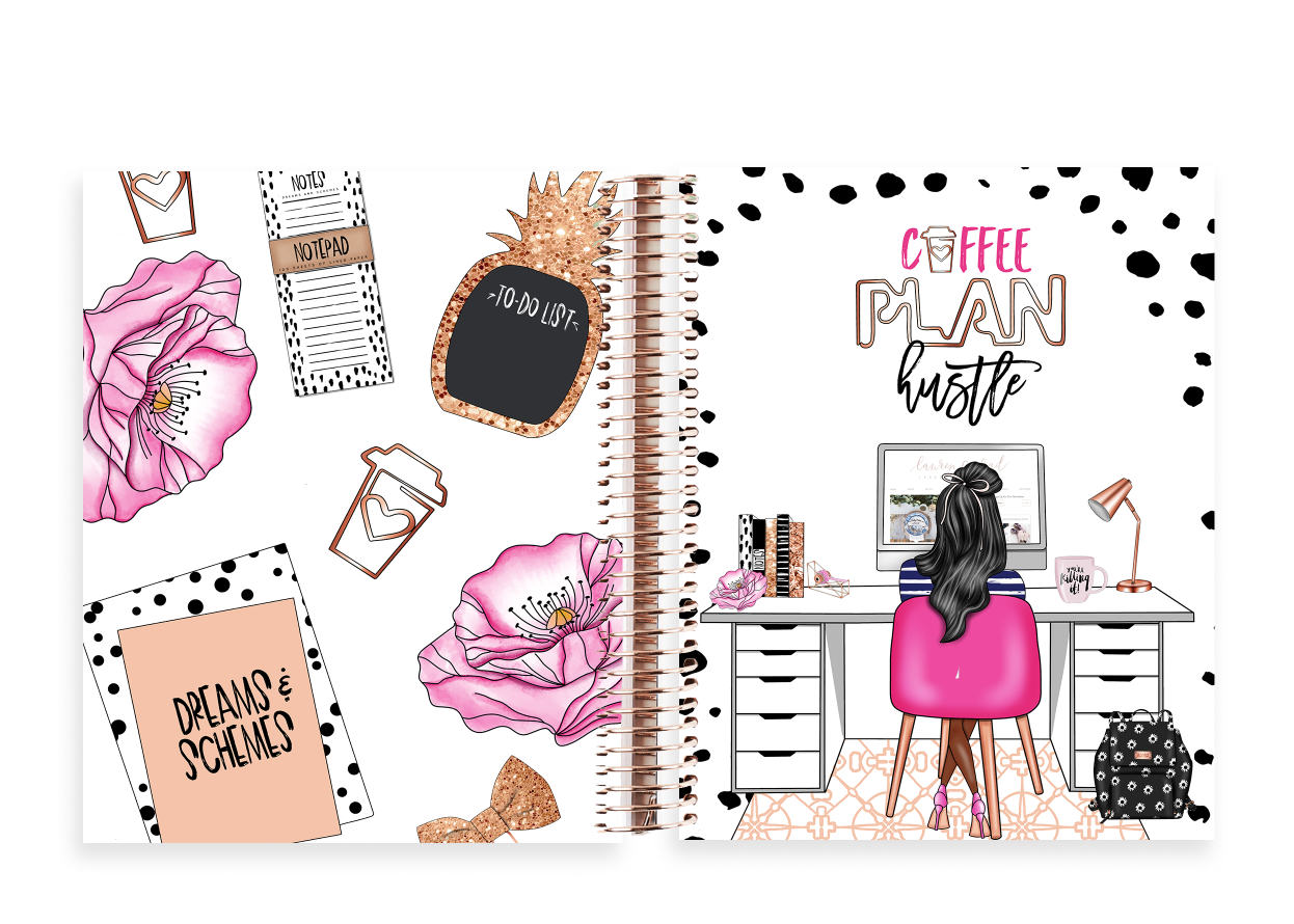 The Stylish Way Planner Planner Girl 12 Months Undated