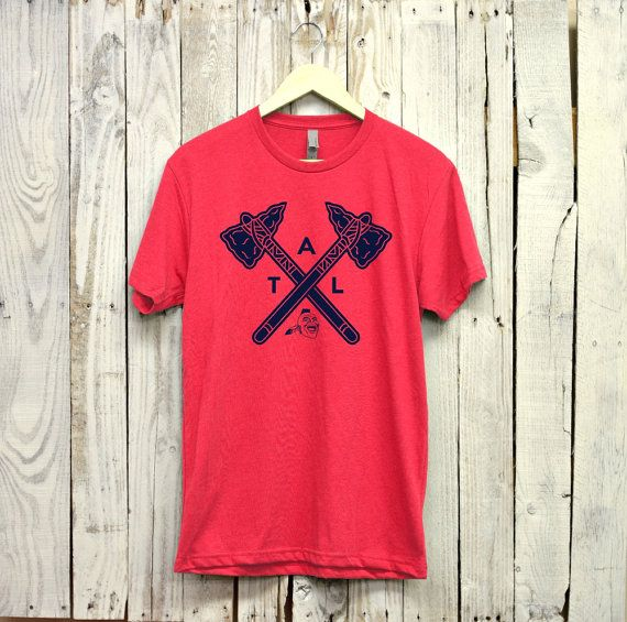 Atlanta Braves Shirt Atl Shirt Atlanta Braves Etsy