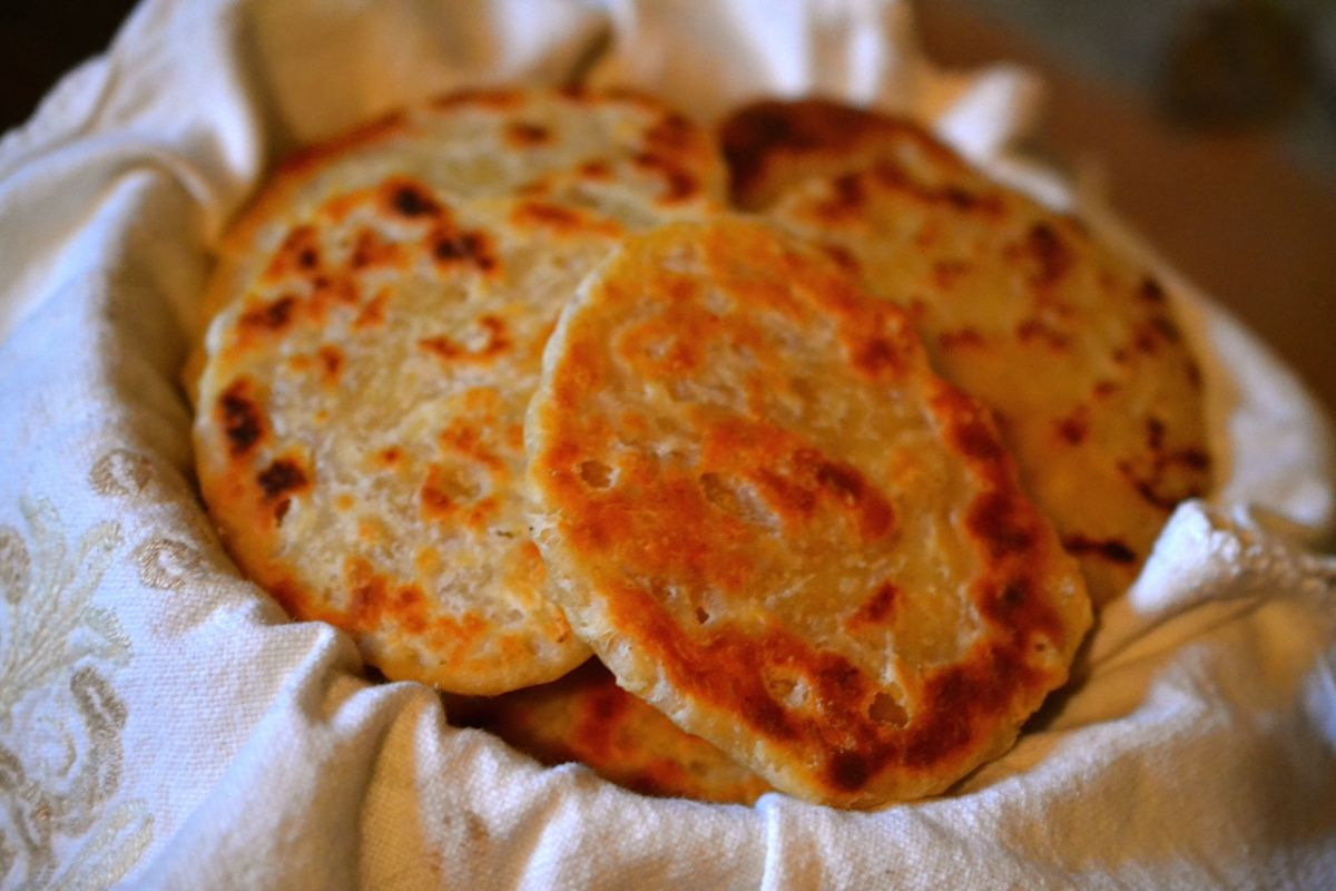 Tortilla flatbreads