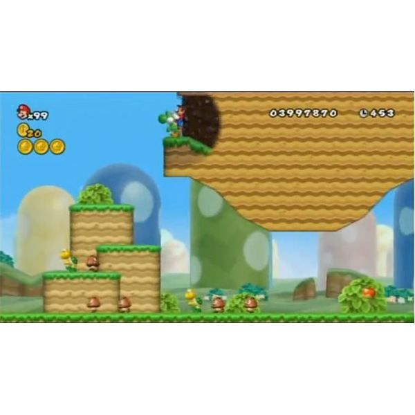 super mario bros wii world 1 cannon