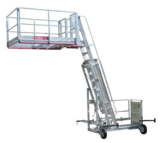 Portable Truck Access Platform System Platform Tc10 Ladder Stairways Construction Cost