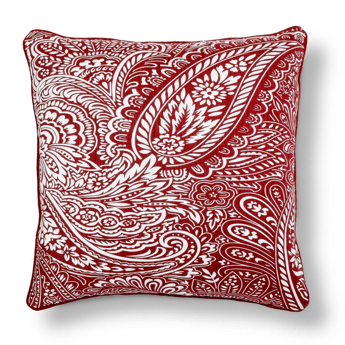 Threshold  Paisley Decorative Pillow | Pillows | Pinterest | Pillows, Throw  Pillows And Decorating