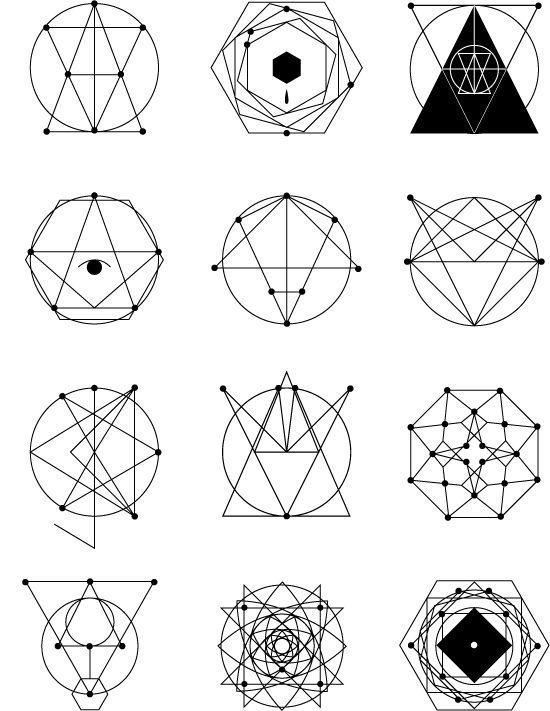 Geometric Tattoos Geometric Tattoo Design Geometric Line Art