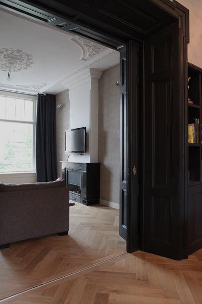 Goede En suite deuren (met afbeeldingen)   Herenhuis interieur, Donkere KT-84
