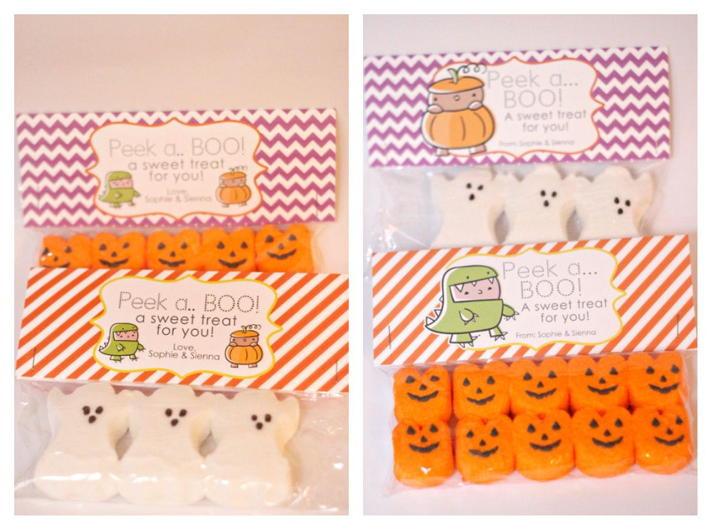 Great Idea for halloween treats for my students! Halloween - halloween treat bag ideas