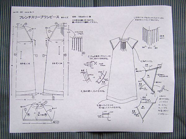 free patterns...ok in japanese but apparently you can figure them out....