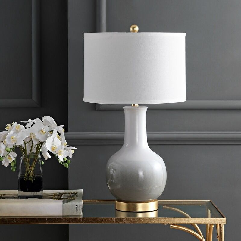 Pin By Riri On Things To Buy Grey Table Lamps Table Lamp Base Gold Table Lamp