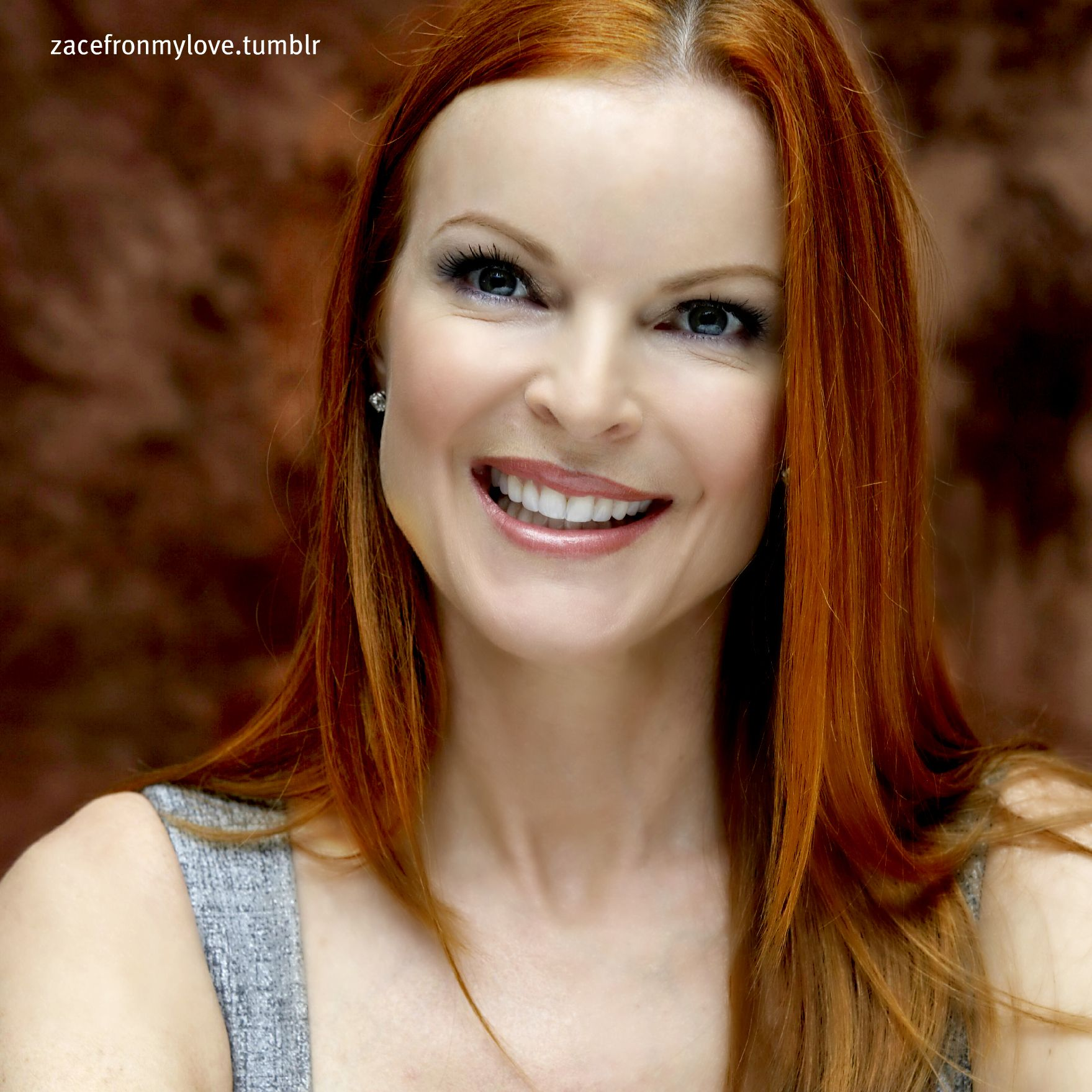 Is marcia cross a natural redhead