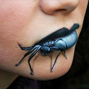 creepy spider makeup ideas | halloween #autumn #makeup #halloween makeup #spider #3D