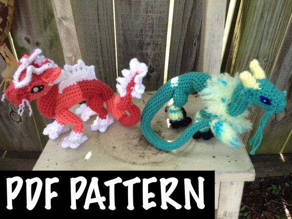Chinese Dragon Crochet Pattern | Pinterest | Amigurumi anleitung ...