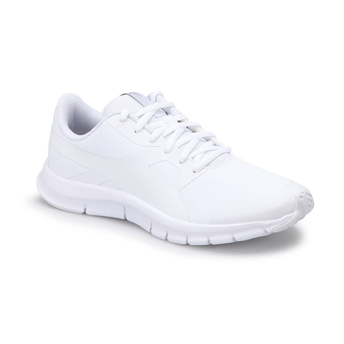 Puma Flexracer Sl Jr White Beyaz Kadin Kosu Ayakkabisi Big 1 Bayan Ayakkabi Sneaker Spor Ayakabilar