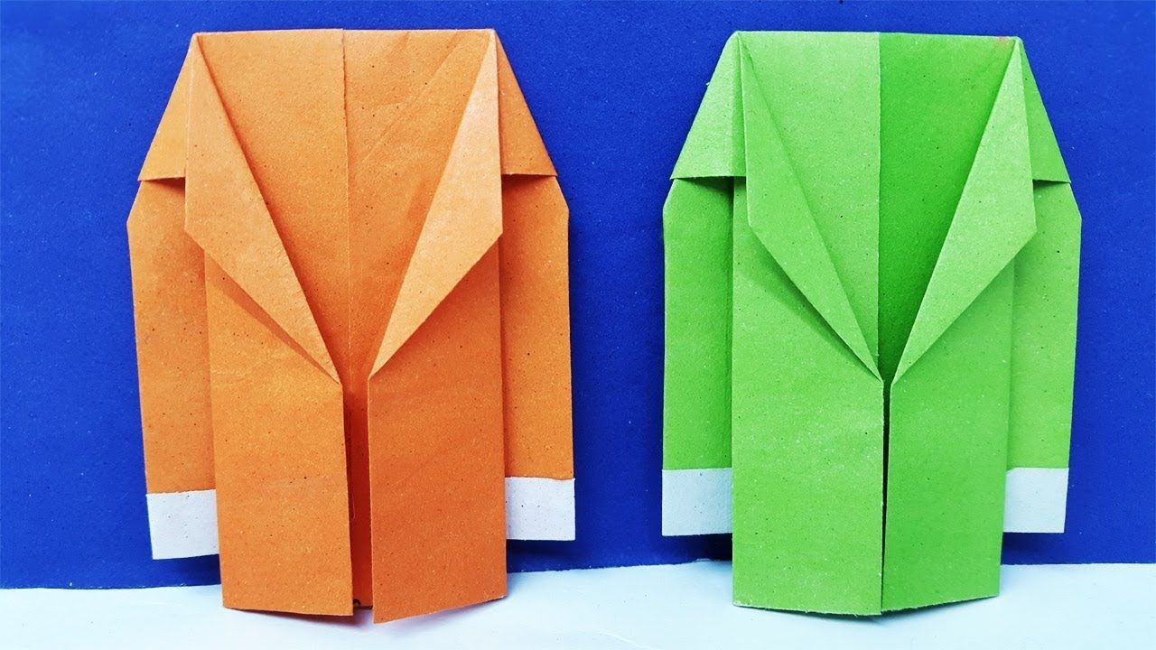 6ef58dfe9 How to make a Paper Coat Easy