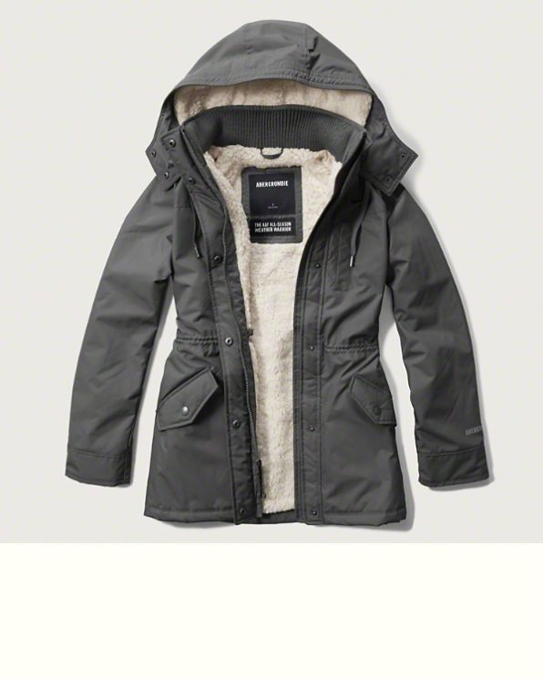 Womens A&F All-Season Weather Warrior Parka | Coats & Jackets ...