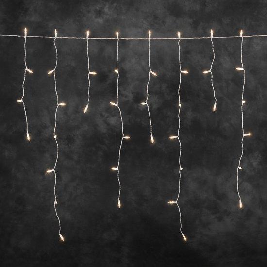 Konstsmide 2725 Snoerverlichting 200 Lamps Pizello Iciclesnoer 500 Cm 24v Voor Buiten Warmwit Lampen Kerstverlichting En Lichtbundel