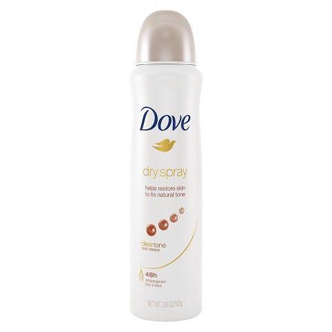 Dove Dry Spray Antiperspirant Clear Tone Skin Renew 3 8 Oz Antiperspirant Antiperspirant Deodorant Deodorant