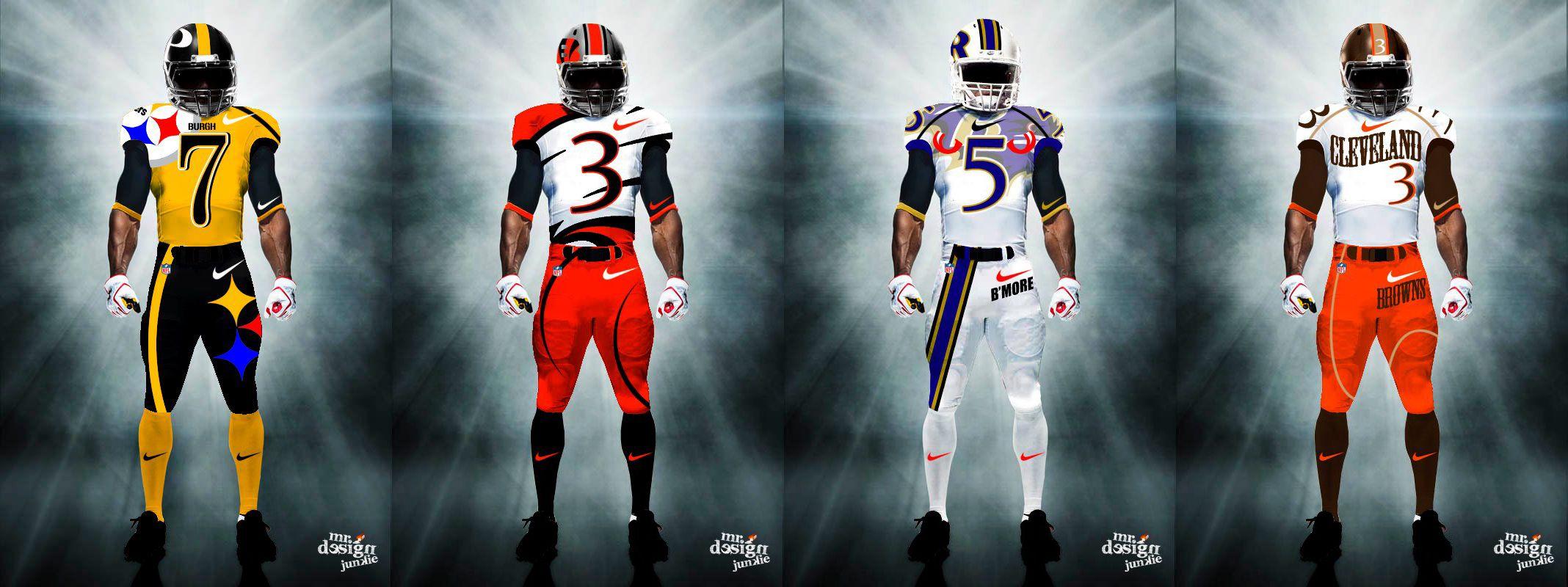 981188968 AFC North Uniforms- http   www.fantasyhelp.com 2014