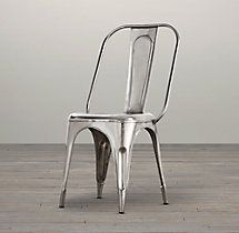 Remy Side Chair | Metal Chairs | Restoration Hardware