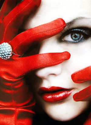 Red Gloves <3  #colour #red acjoy