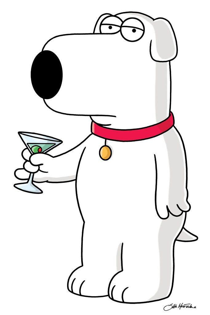 Brian de Family Guy (Padre de familia) | Series de TV modernas ...