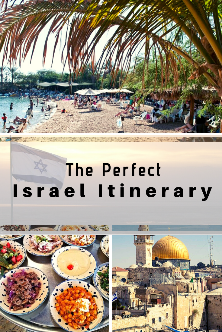 Ultimate Israel Itinerary: Jerusalem, Tel Aviv, Dead Sea & More | MonaCorona.com | A Millennial-Luxury Travel Blog