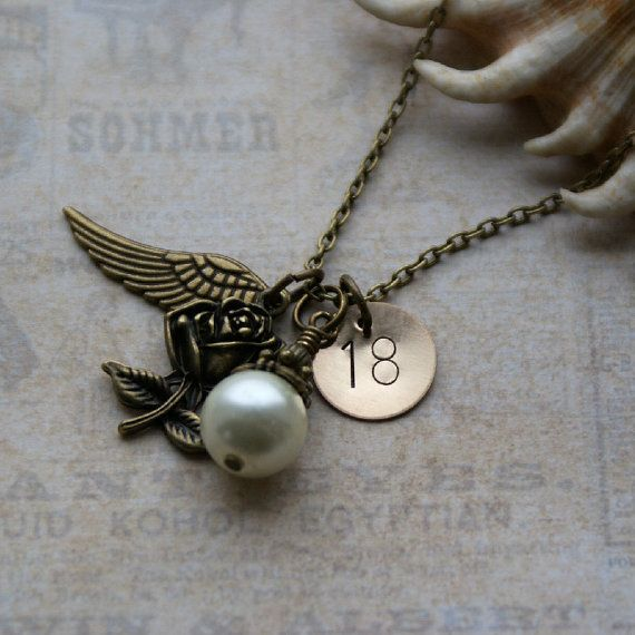 Personalised 18th Birthday Necklace, Keepsake Jewellery