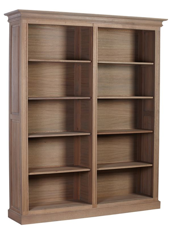 Une Jolie Bibliotheque Traditionnelle Composee De Chene Massif Avec 4 Etageres Ideale Pour Les Grands Espa Meuble Canape Home Spirit Etagere Casier