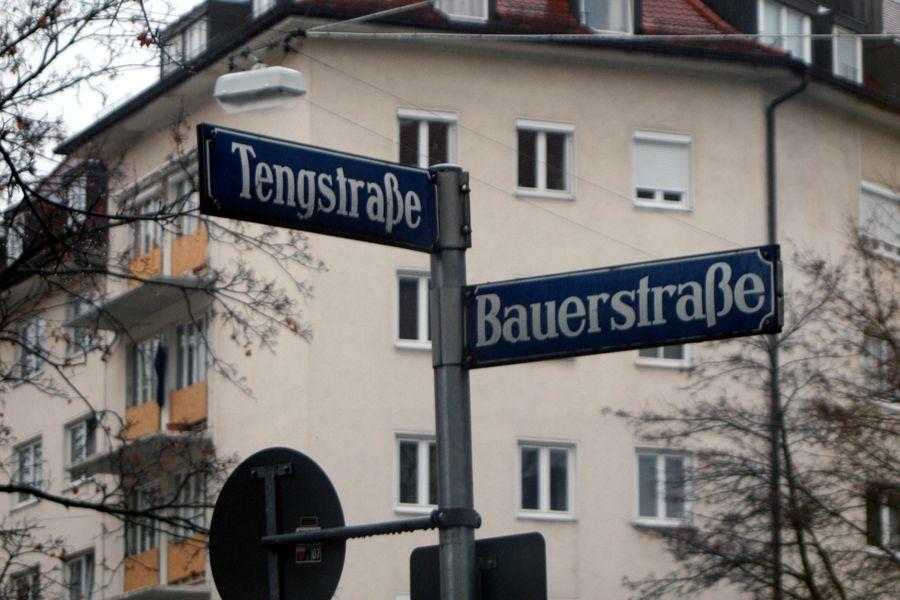 meine neuen Atelier- und Ladenräume in der Tengstraße 36 / Ecke Bauerstraße La Rose Noire Couture Martin Teufl