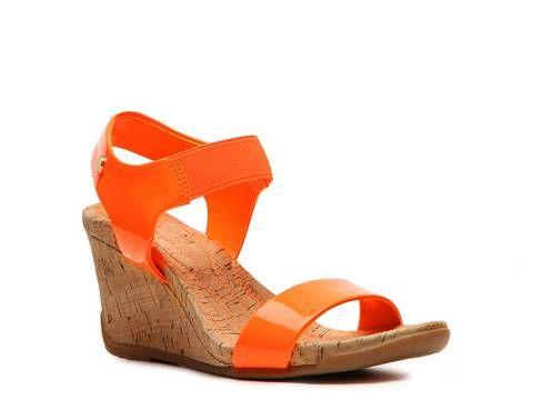 54c0daa6c Bandolino Lyza Wedge Sandal Women s Casual Sandals Sandals Women s Shoes -  DSW