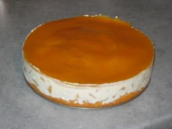Pfirsich-Maracuja-Torte - Rezept mit Bild
