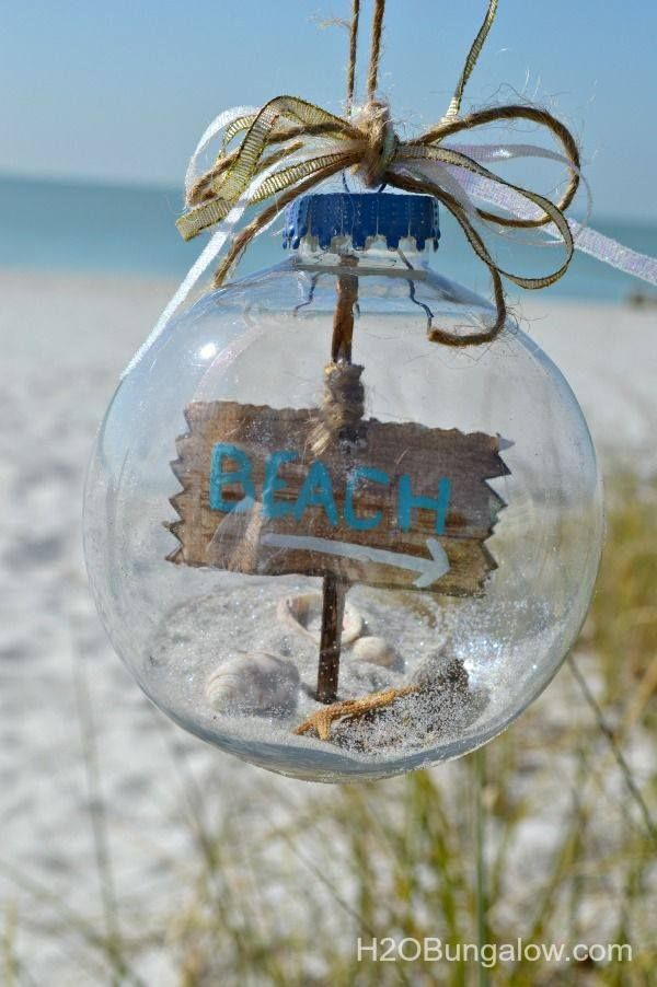 Beach Bauble Baubles Are Easy To Personalize For Your Guests