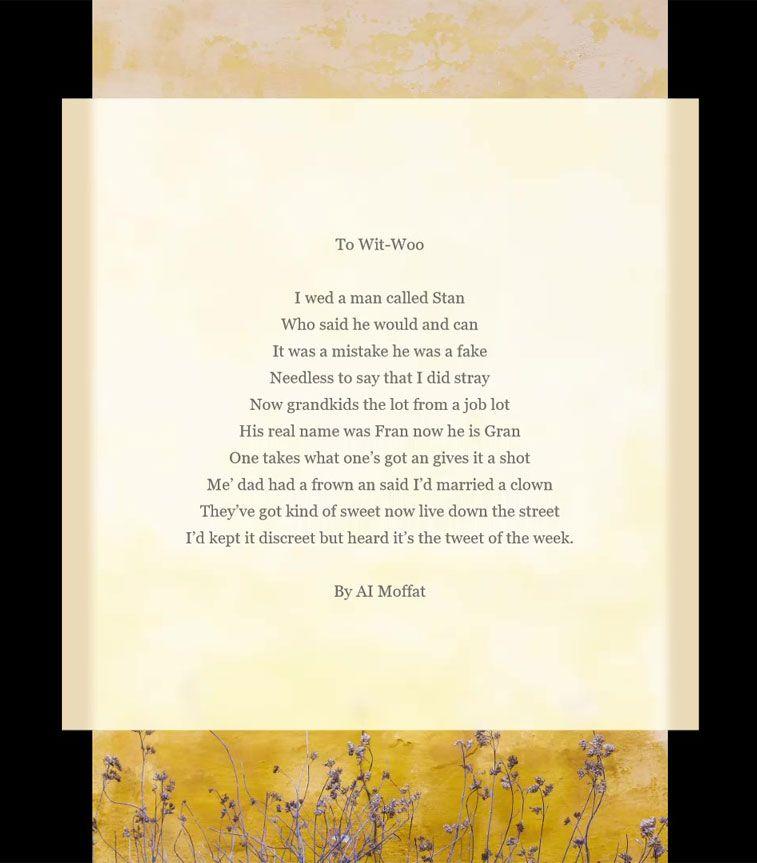 Funny Wedding Poems Wedding humor, Wedding poems
