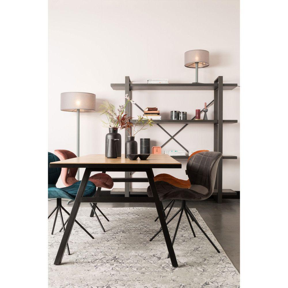 Table A Manger En Bois 180x90cm Zuiver Seth Chaise Design