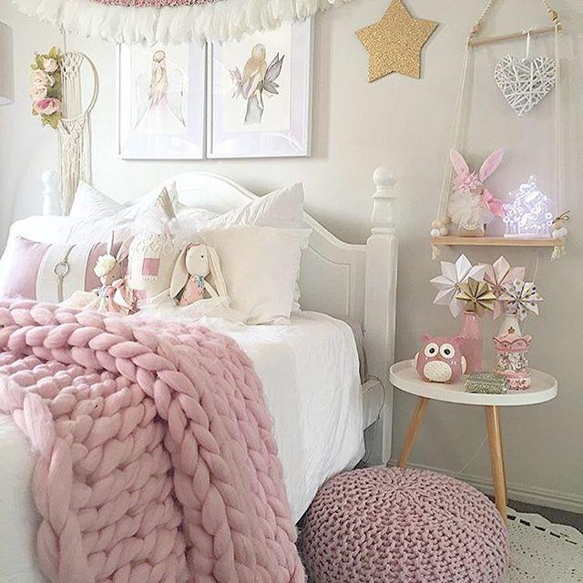 Awesome Pink Girls Room   Simple Home Design Ideas   Academiaeb.com