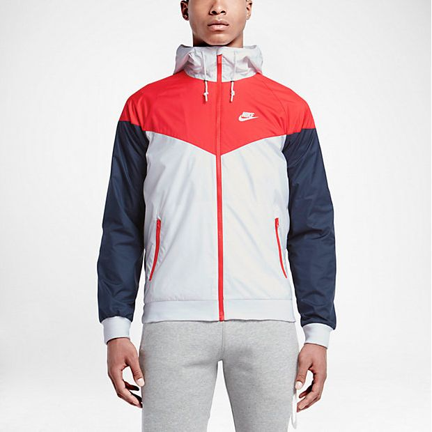 634e37bb3887 nike-windrunner-jacket-white-red-blue-1 Windbreaker Outfit