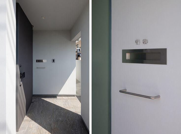 Entrance porch steel door- Entrance porch steel door