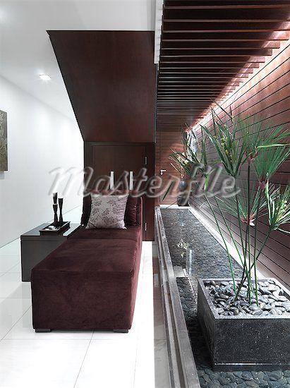 Pin By Nancy Schwartz On Interiors Indoor Water Features Velvet Lounge Chair Water Features