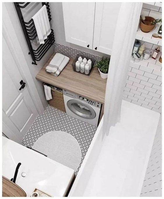 35 SIMPLE & CLEAN SMALL BATHROOM IDEAS ON A BUDGET (HERE ...