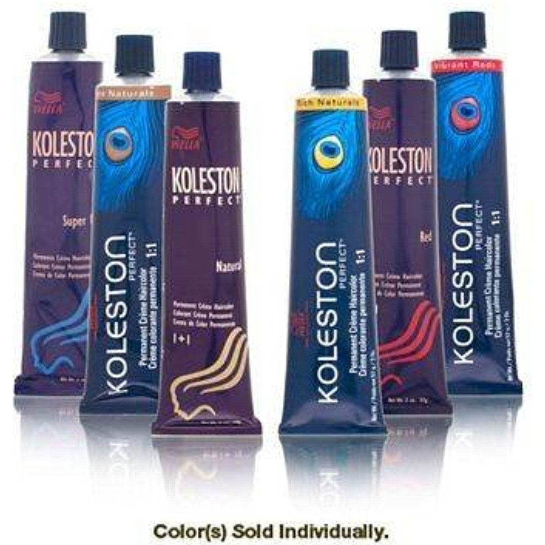 Wella Koleston Perfect Permanent Creme Haircolor 1 1 4465 Attitude