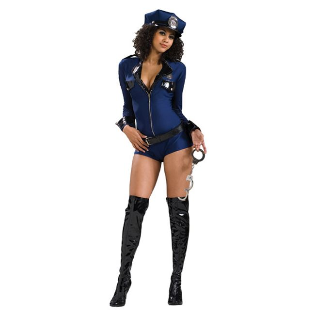 c80fd3b4470d Miss Demeanor Police Officer Sexy Costume You will be causing traffic to  stop in the name of the law in our sexy police officer costume.
